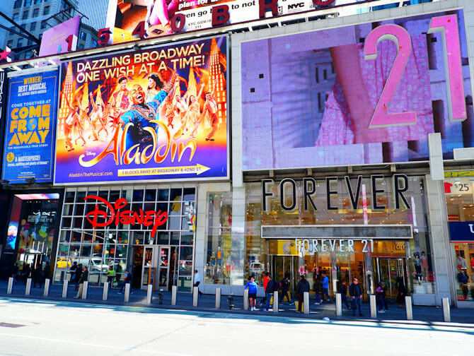 Theater District en Nueva York - Forever21