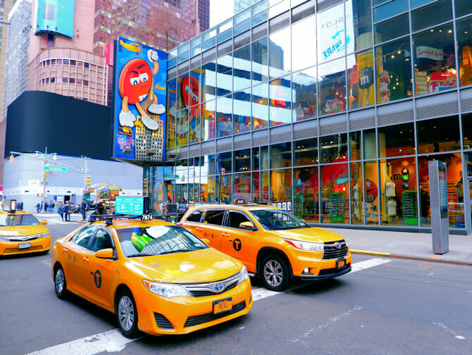 Theater District en Nueva York - M&M Store