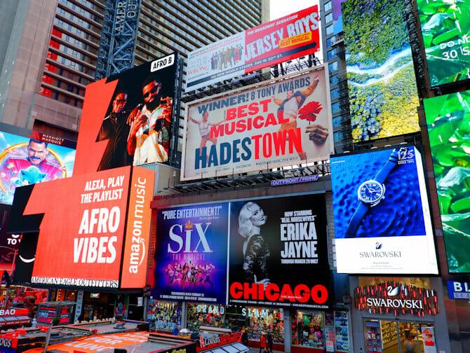 Theater District en Nueva York