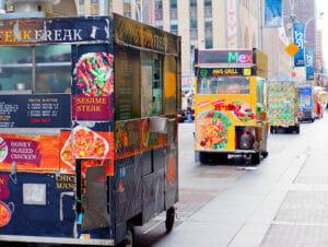 Comida callejera en Nueva York