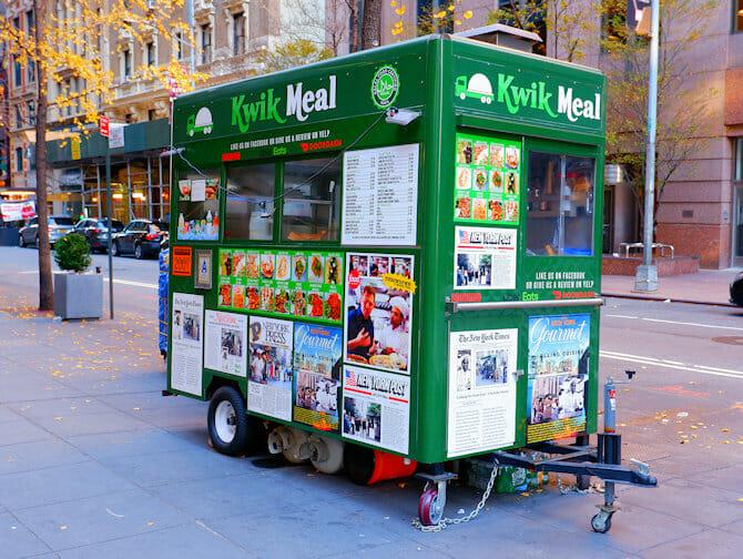 Comida callejera en Nueva York - wafel