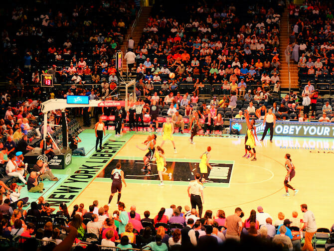 Tickets basketball para el New York Liberty