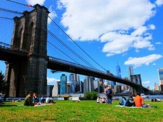 Las mejores vistas de Nueva York - Brooklyn Bridge Park