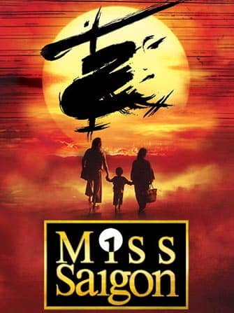 Tickets para Miss Saigon en Broadway - Cartel