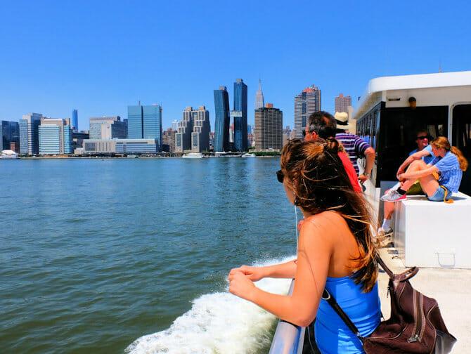 NYC Ferry en Nueva York - Viaje en ferry
