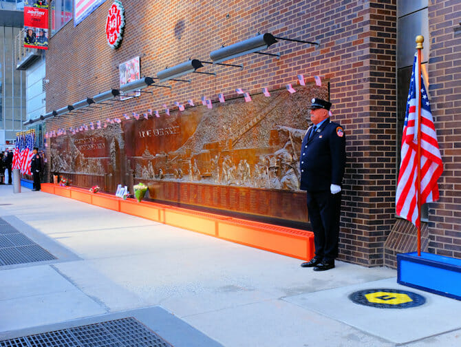 11 de Septiembre en Nueva York - Memorial Wall