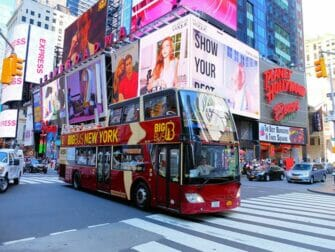 Diferencias entre el New York Explorer Pass y el New York Pass - bus hop on hop off