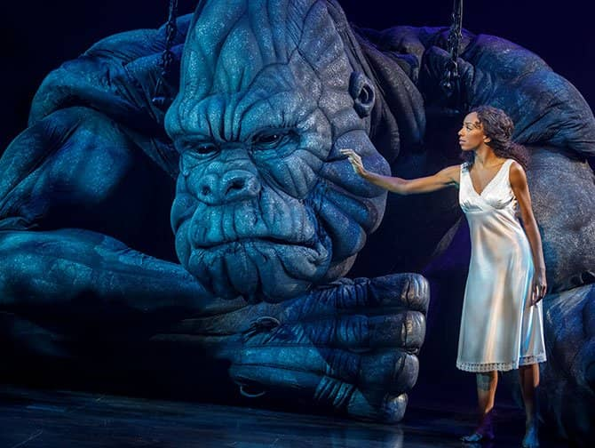 Tickets para King Kong the Musical en Broadway - King Kong y Ann