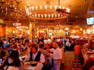 Carmine's restaurante familiar en Nueva York