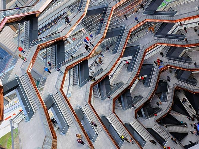 Hudson Yards Vessel en Nueva York - Estructura