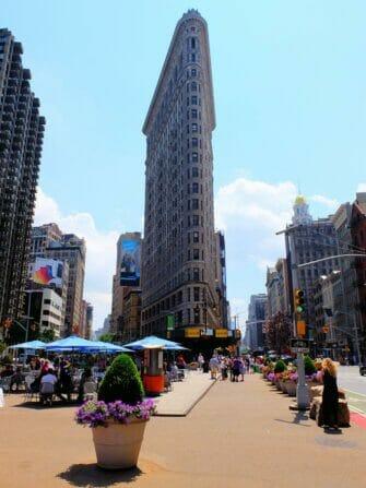Tour de los superhéroes en Nueva York - Flatiron Building