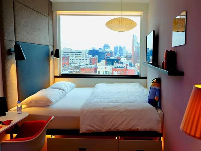 citizenM New York Bowery Hotel - Habitación