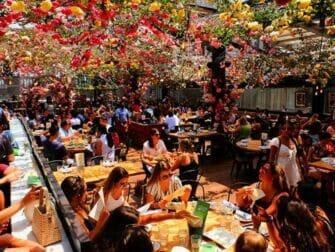 Restaurantes en Nueva York - Terraza rooftop de Birreria
