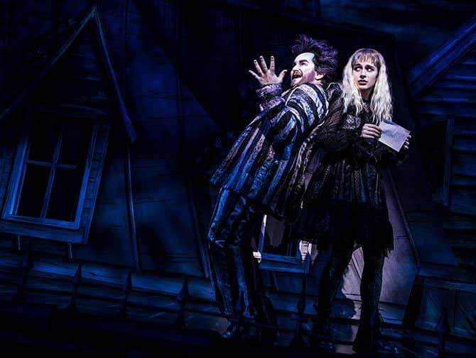 Tickets para Beetlejuice en Broadway - Beetlejuice & Lydia