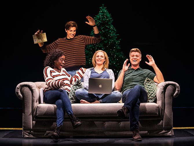 Tickets para Jagged Little Pill en Broadway - La familia Healy