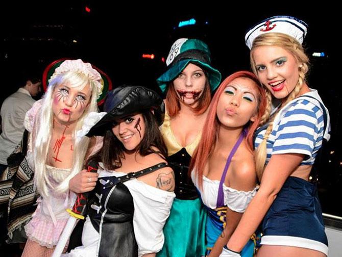 Fiestas de Halloween en Nueva York - Disfraces