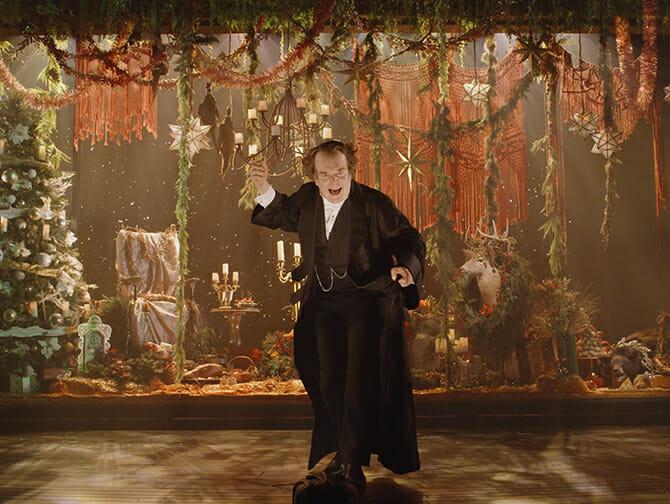 Tickets para A Christmas Carol en Broadway - Scrooge y el espíritu de la Navidad Presente