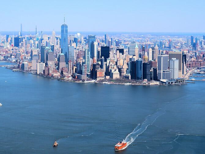 Vuelos baratos en helicóptero por Nueva York