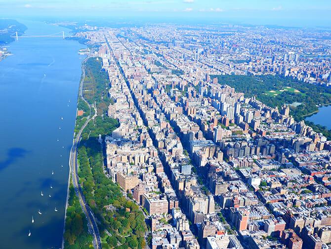 Vuelo en helicóptero por Nueva York - Vistas de Central Park