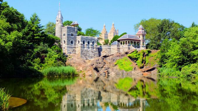 Belvedere Castle en Central Park – Zoom