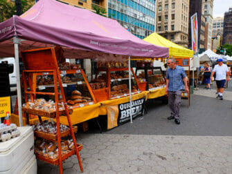 Ecoturismo en Nueva York - Pan en el Union Square Greenmarket