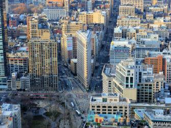Flatiron Building en Nueva York - Vista