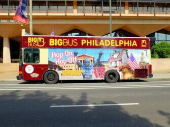 Pases para atracciones en Filadelfia - Hop on Hop off Bus