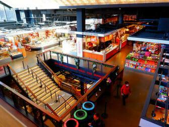 Lower East Side en Nueva York - El interior del Essex Market