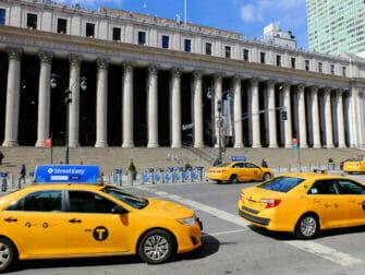 Los taxis en Nueva York