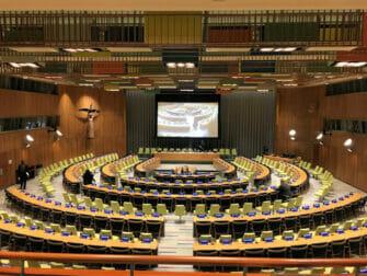 Las Naciones Unidas en Nueva YorkTrusteeship Council Chamber