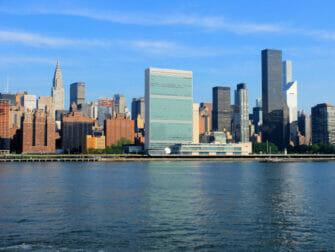 Las Naciones Unidas en Nueva York Chrysler Building
