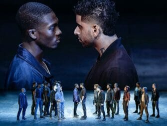 Tickets para West Side Story en Broadway - Enfrentamiento