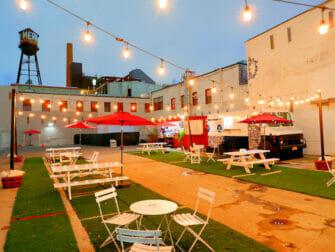 Williamsburg en Brooklyn - Restaurante hipster