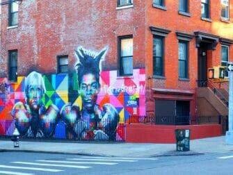 Williamsburg en Brooklyn - Arte Callejero