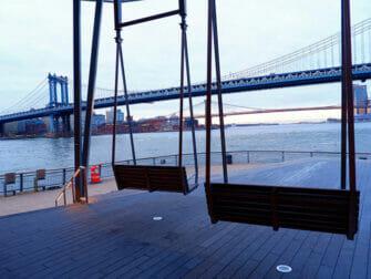 Manhattan Bridge en Nueva York - Vistas
