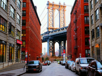 Manhattan Bridge en Nueva York - Empire State Building