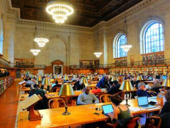 Localizaciones de películas en Nueva York - New York Public Library