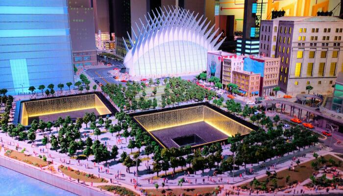 Gullivers Gate Miniature World 911 Memorial
