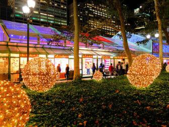 Mercados navideños en Nueva York - Bryant Park