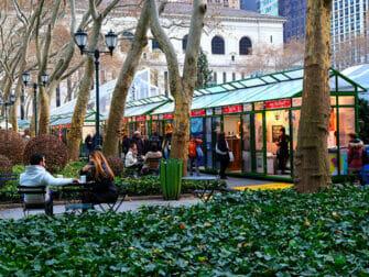 Mercados navideños en Nueva York - Bryant Park Market