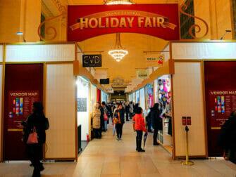 Mercados navideños en Nueva York - Grand Central