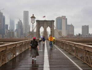 La lluvia en Nueva York