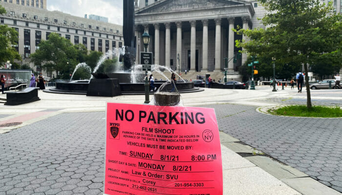 Filming Locations in New York No Parking