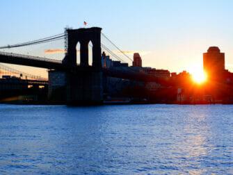 South Street Seaport en Nueva York - Brooklyn Bridge