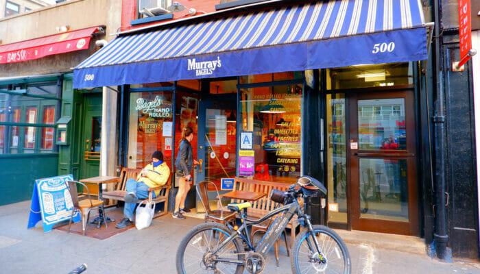 Los mejores bagels de Nueva York - Murrays Bagels