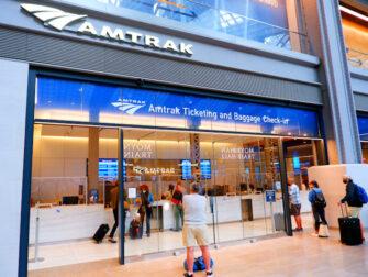 Amtrak en Nueva York - Mostrador