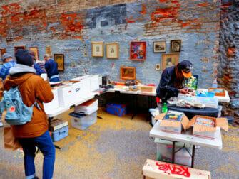 Mercadillos en Nueva York - Chelsea Flea Market