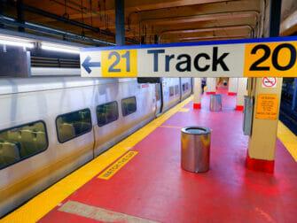 Long Island Rail Road (LIRR) en Nueva York - Andén