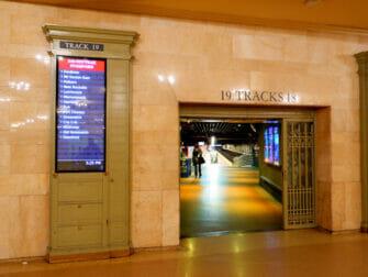 Metro North Railroad en Nueva York Metro North en Grand Central