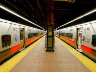 Metro North Railroad en Nueva York - Andén